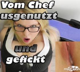 Vom Chef ausgenutzt+gefickt!!! (Creampie Vulkan)