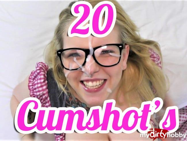Best of Cumshot's !!! Der Jahresrückspritz 2016