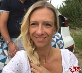 Spontaner Outdoor Sex mit Pia Sativa